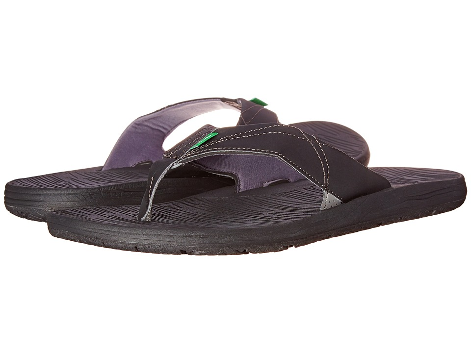 Sanuk - Latitude (Black) Men's Sandals