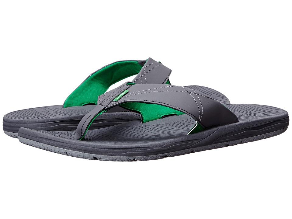 Sanuk - Latitude (Charcoal/Grey) Men's Sandals