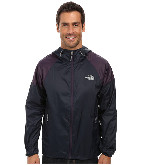 The North Face - Flyweight Hoodie (Outer Space Blue/Dark Eggplant Purple) Men's Sweatshirt