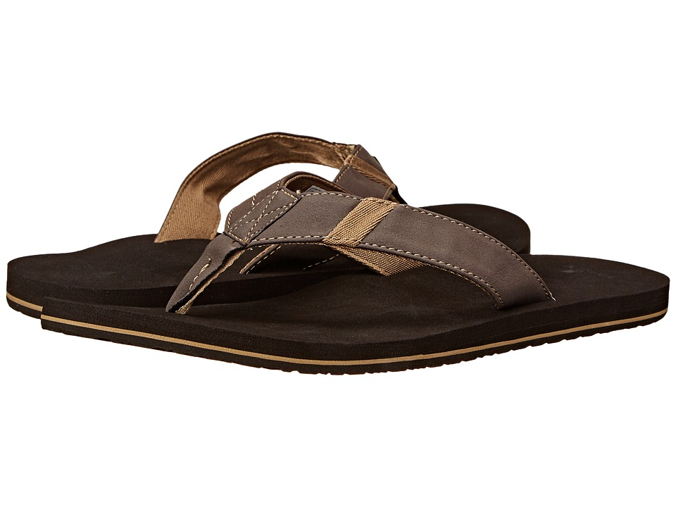 Sanuk - Jet Stream (Brown) Men