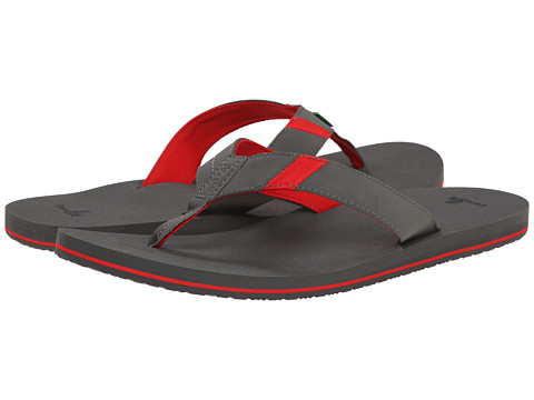 Sanuk - Jet Stream (Grey/Grey) Men's Sandals