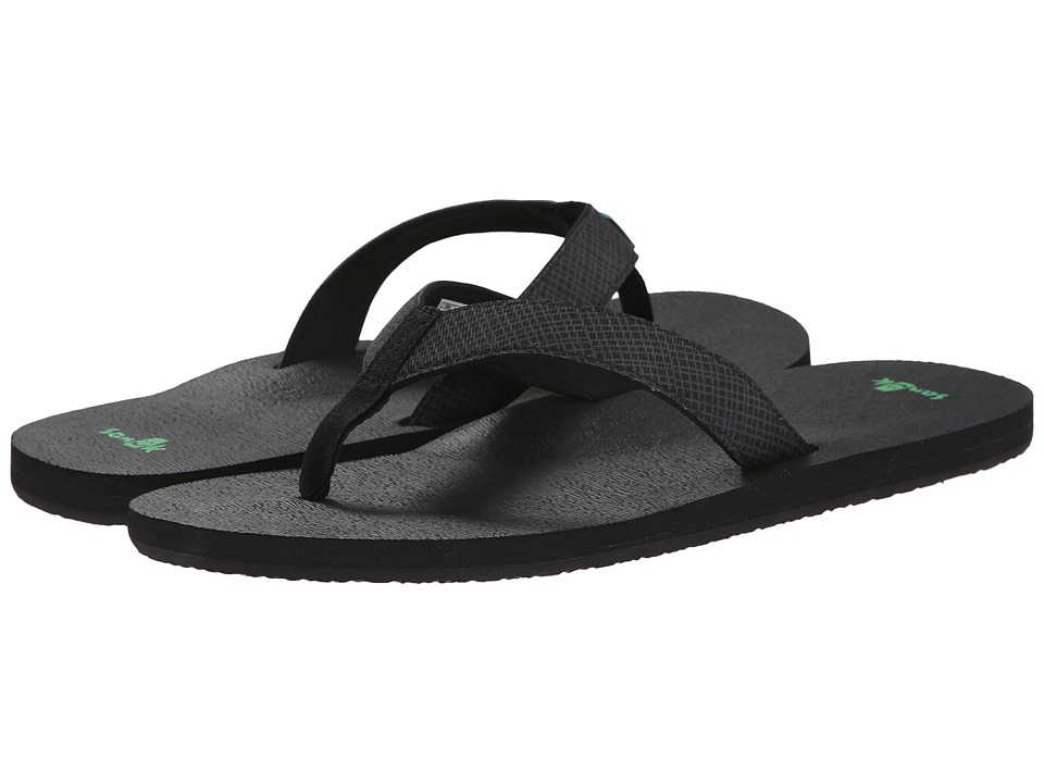 Sanuk - Off The Grid (Black) Men