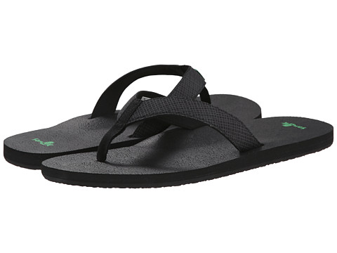 Sanuk - Off The Grid (Black) Men's Sandals