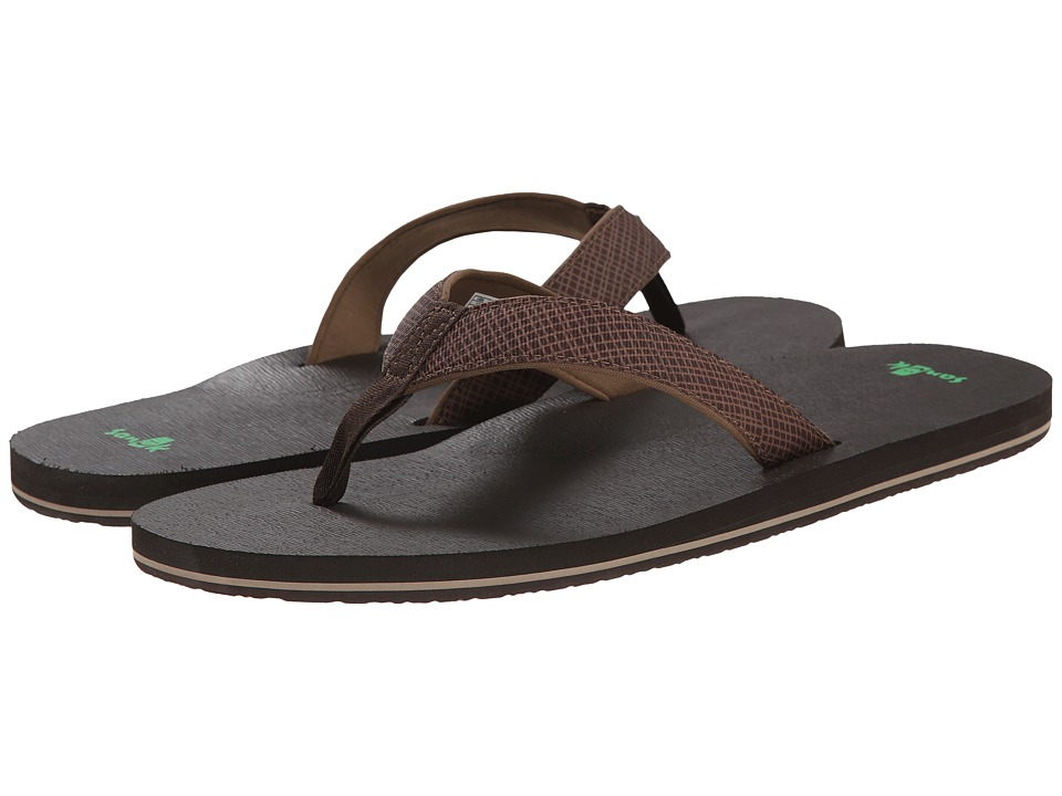 Sanuk - Off The Grid (Brown) Men