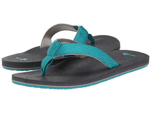 Sanuk - Off The Grid (Turquoise/Grey) Men