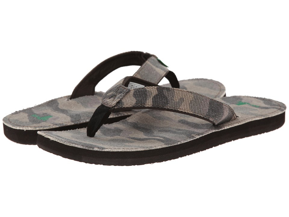 Sanuk - Chameleon (Washed Camo) Men's Sandals