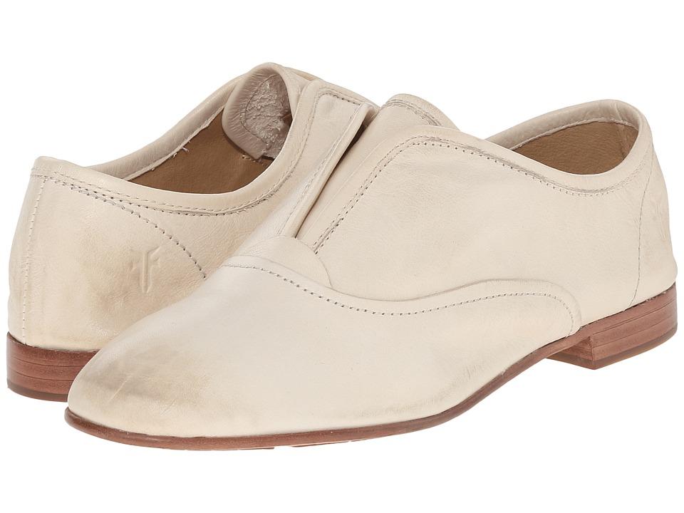 Frye - Jillian Slip On (Off White Soft Vintage Leather) Women's Slip on Shoes