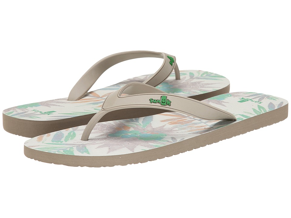 Sanuk - Tropic Funder (Natural/Washed Natural) Men