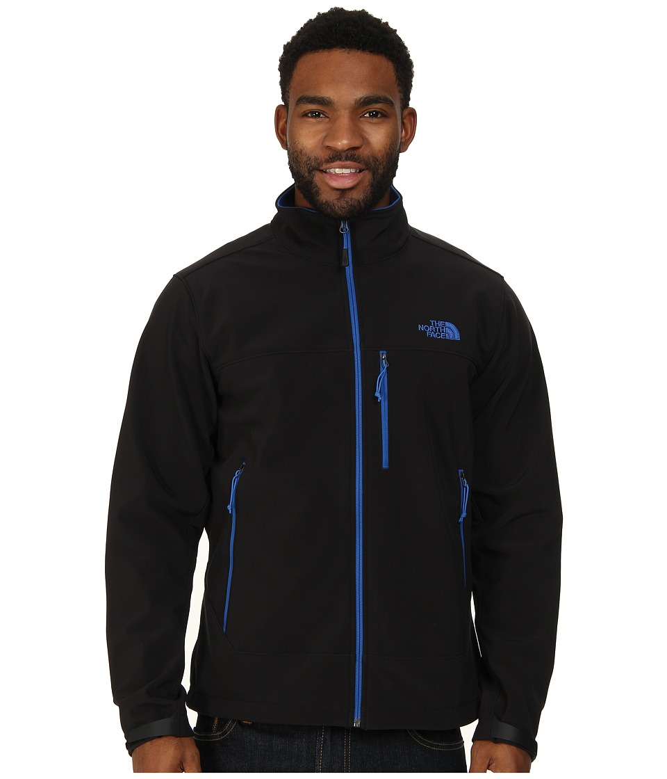 The North Face - Apex Bionic Jacket (TNF Black/Monster Blue) Men's Coat