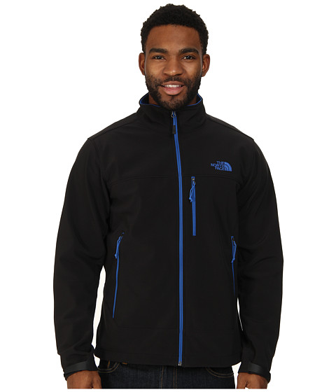 The North Face - Apex Bionic Jacket (TNF Black/Monster Blue) Men