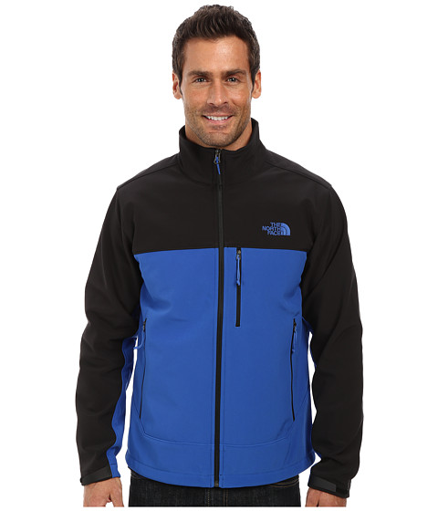 The North Face - Apex Bionic Jacket (Monster Blue/TNF Black) Men