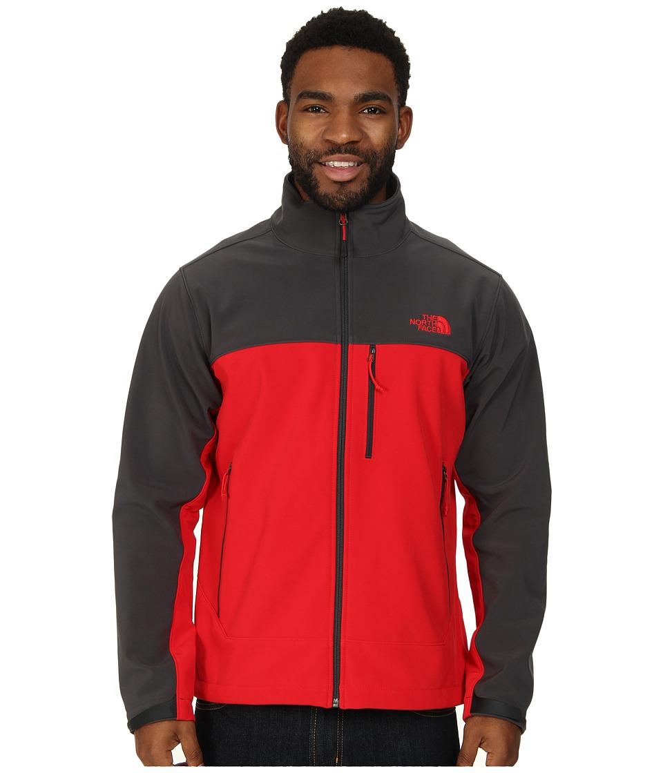 The North Face - Apex Bionic Jacket (TNF Red/Asphalt Grey) Men's Coat