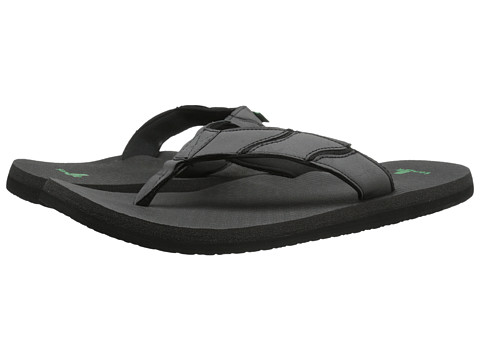 Sanuk - Shockwave (Black) Men's Sandals