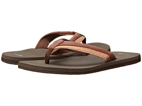 Sanuk - Beer Cozy Primo Light (Dark Brown/Brown) Men