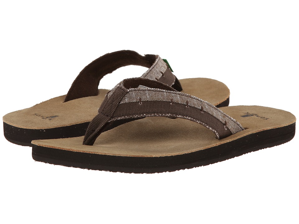 Sanuk - Dr. Fray (Brown) Men