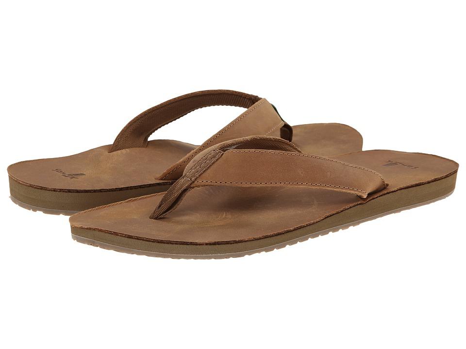 Sanuk - John Doe (Tan) Men's Sandals