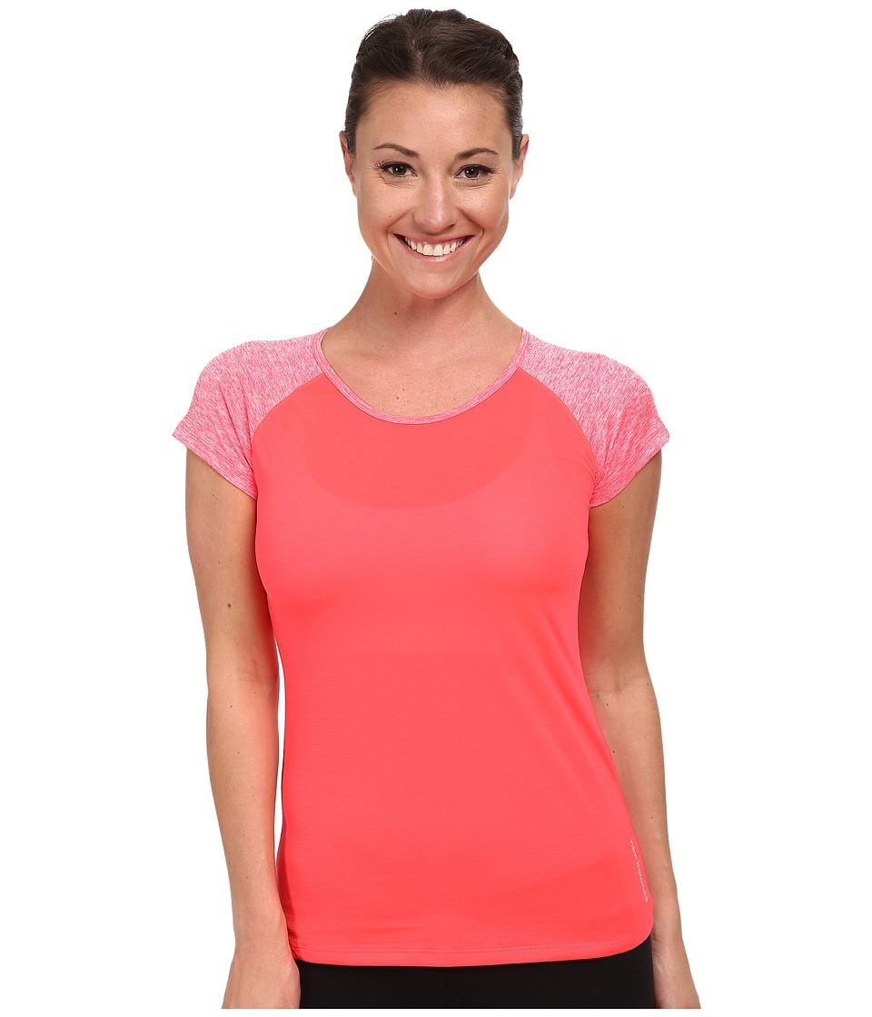 New Balance - Novelty Short Sleeve (Bright Cherry) Women's Short Sleeve Pullover