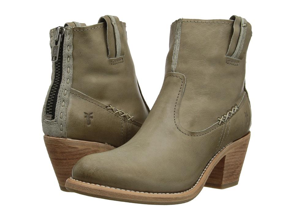 Frye - Leslie Artisan Short (Bone Washed Vintage) Cowboy Boots