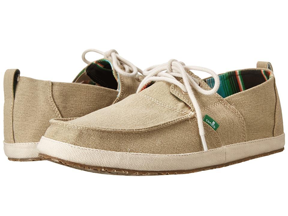 Sanuk - Admiral (Tan) Men's Slip on Shoes