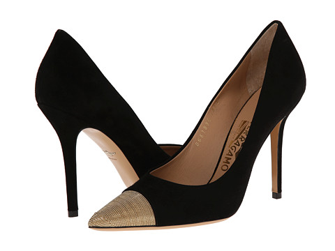Salvatore Ferragamo - More (Nero) High Heels