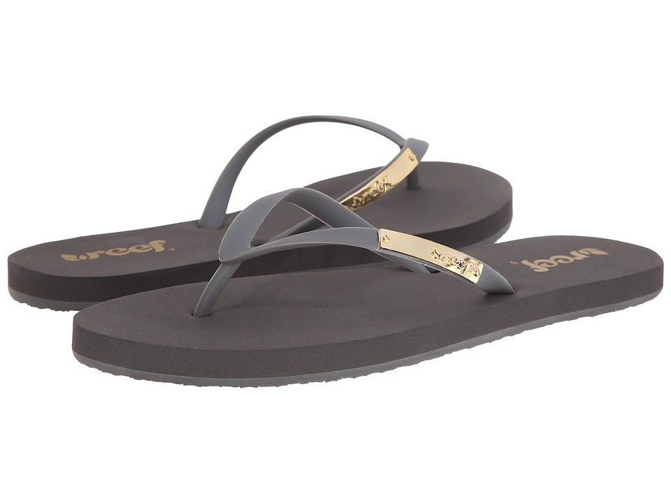 Reef - Glam (Grey) Women's Sandals