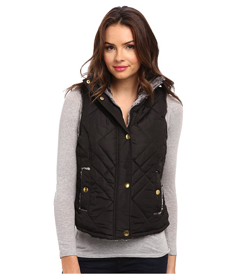 KC Collections - Reversible Vest (Black) Women's Vest