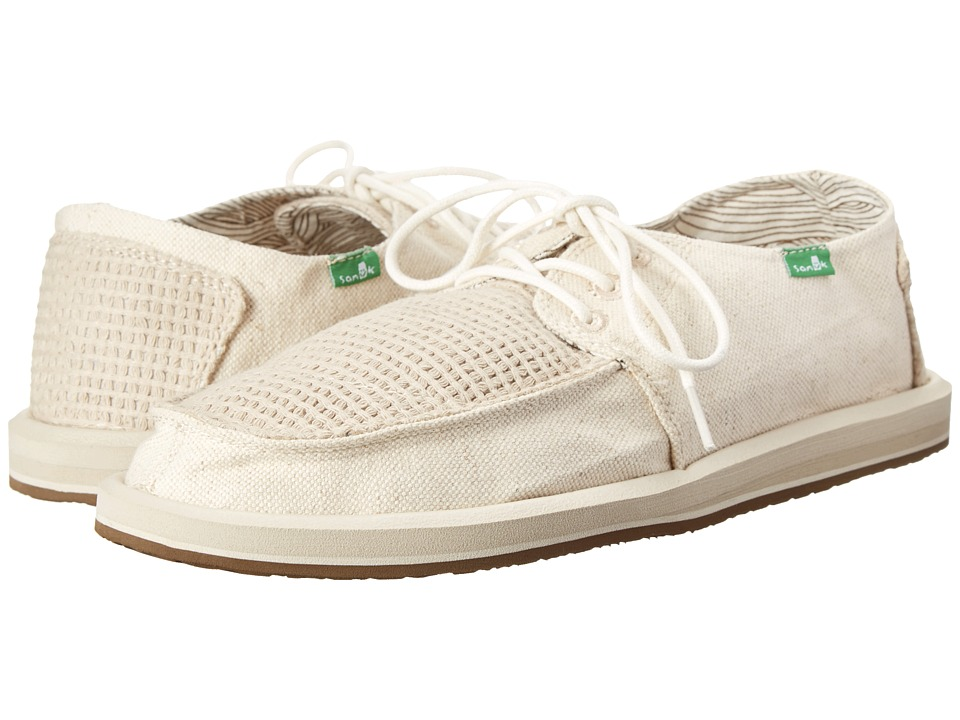Sanuk - Drewby Breezin (Natural) Men's Slip on Shoes