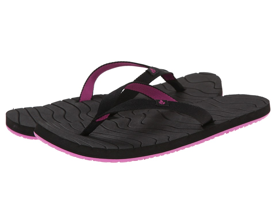 Reef - Swells (Black/Purple) Women's Sandals