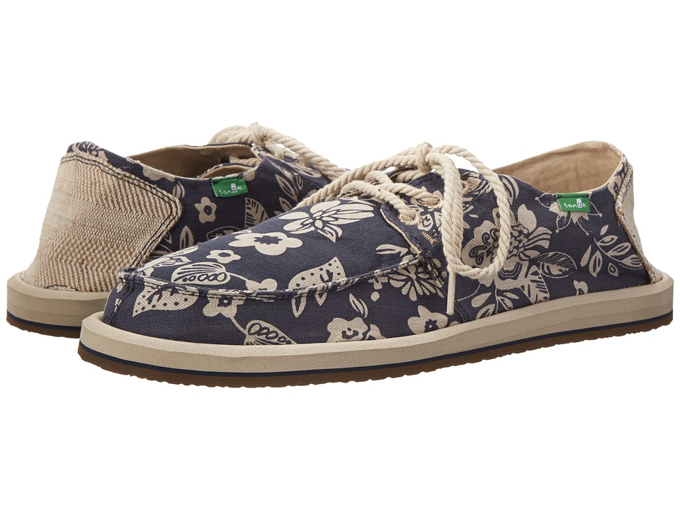 Sanuk - Drewby Chillin (Navy/Print) Men