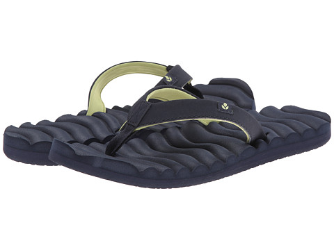 Reef - Super Swell (Navy/Lime) Women