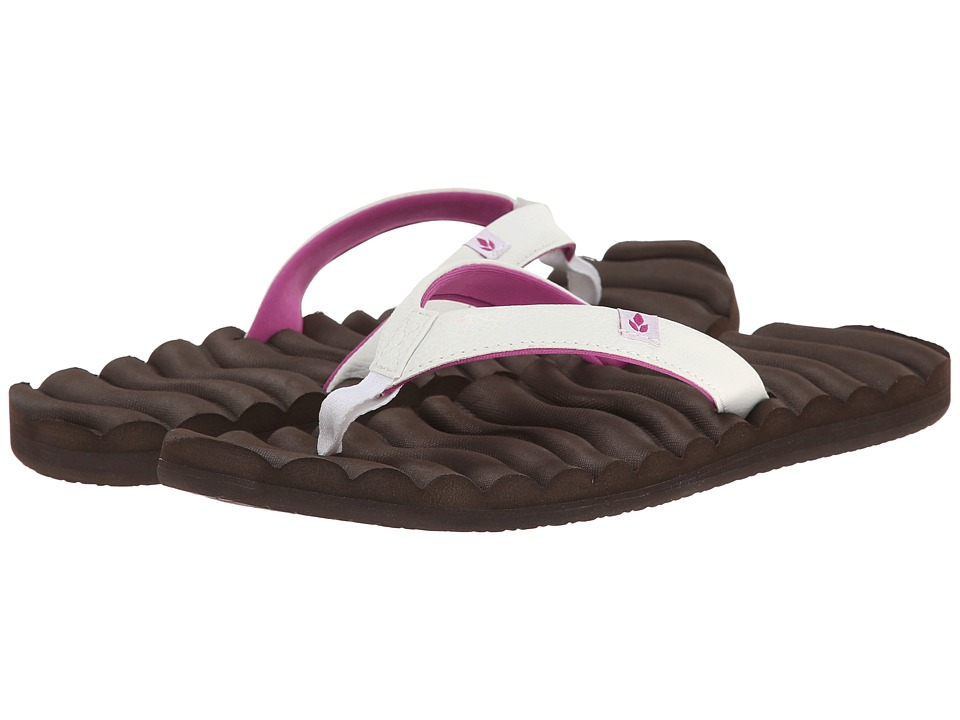 Reef - Super Swell (Brown/Berry) Women's Sandals