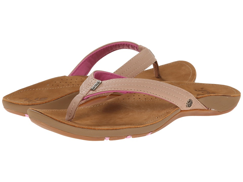 Reef - Miss J-Bay (Tan/Lavender) Women's Sandals
