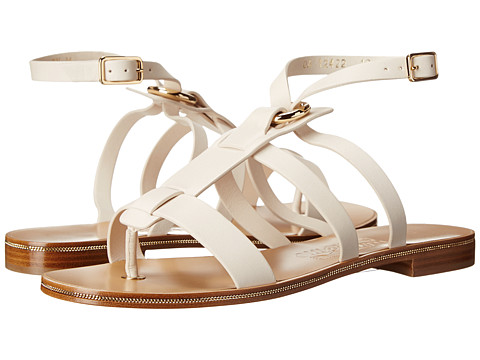 Salvatore Ferragamo - Fiamma S (Seta) Women's Dress Sandals