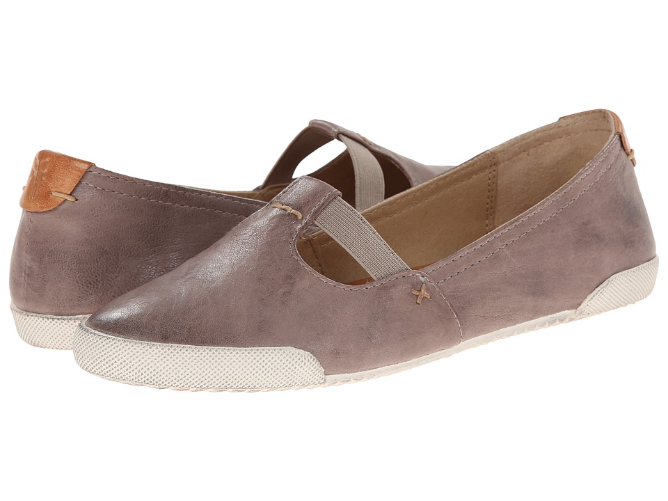 Frye - Melanie T Strap (Grey Antique Soft Vintage) Women