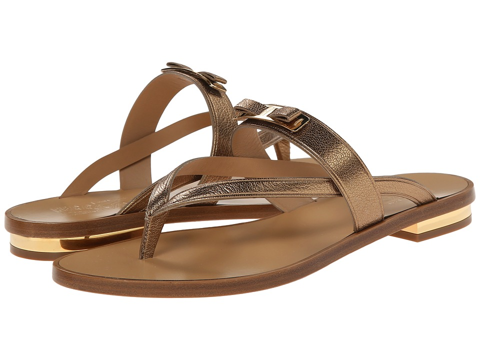Salvatore Ferragamo - Mare (Gold) Women's Sandals