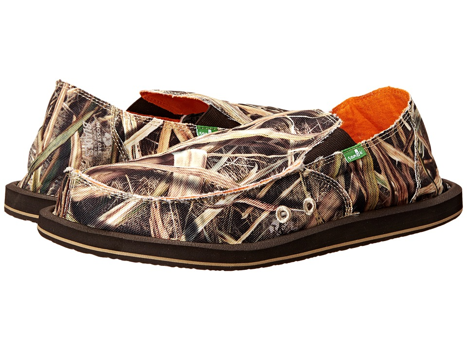 Sanuk - Vagabond Blades (Mossy Oak) Men's Slip on Shoes