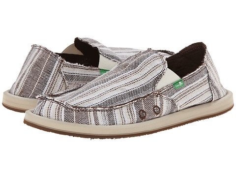 Sanuk - Donny (Brown Stripe) Men