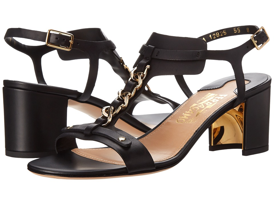 Salvatore Ferragamo - Maki 55 (Nero) High Heels