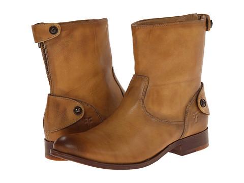 Frye - Melissa Button Zip Short (Banana Dakota) Women's Zip Boots