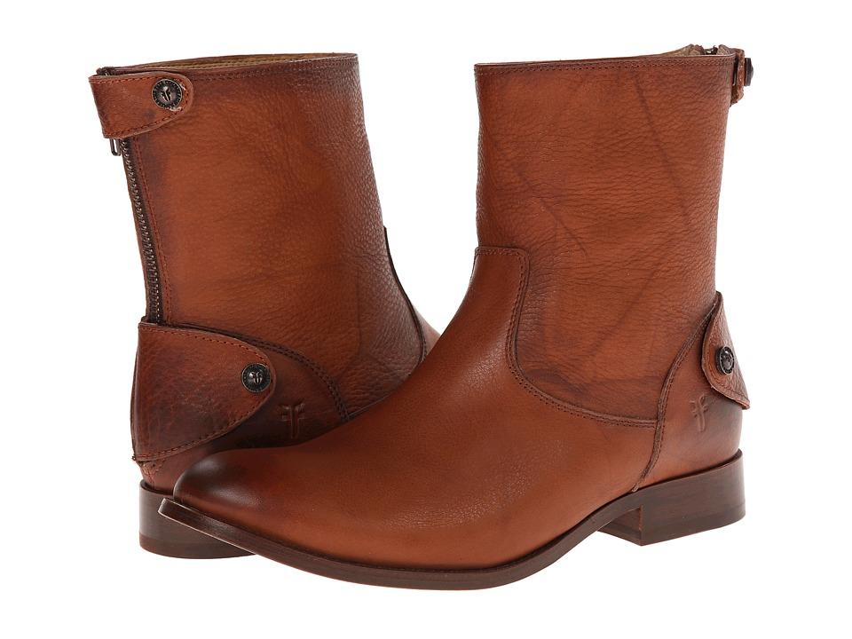 Frye - Melissa Button Zip Short (Saddle Dakota) Women