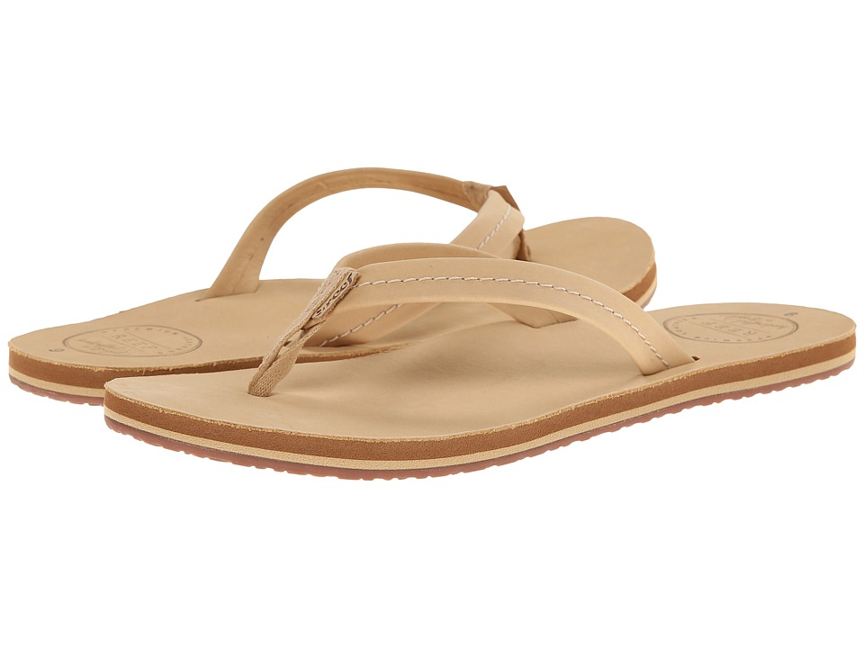 Reef - Chill Leather (Tan) Women's Sandals