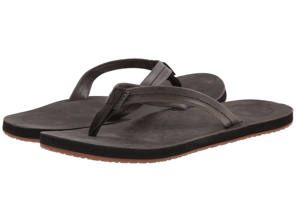 Reef - Chill Leather (Black) Women's Sandals