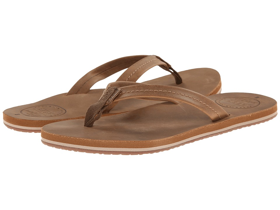 Reef - Chill Leather (Tobacco) Women's Sandals