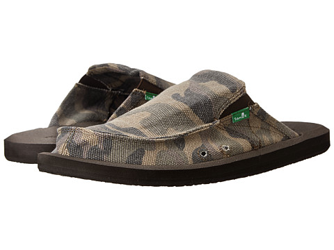 Sanuk - You Got My Back 2 Basics (Camo) Men