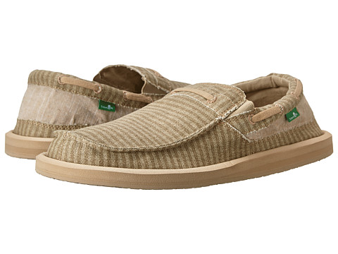 Sanuk - Skipjack (Washed Tan Stripe) Men