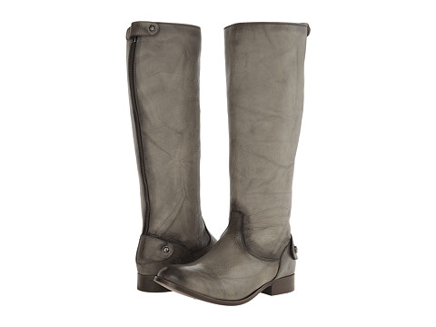 Frye - Melissa Button Back Zip (Grey Dakota) Women