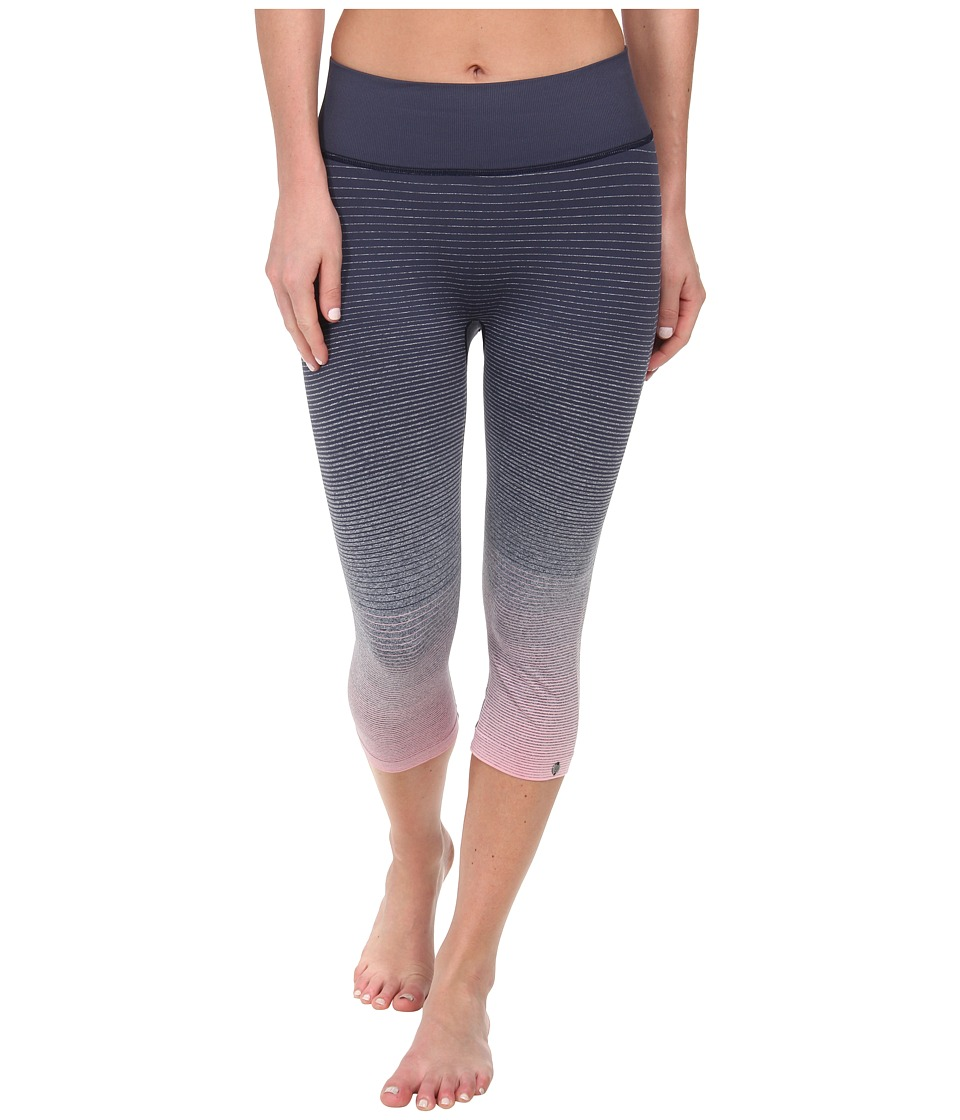 Brooks - PureProject Seamless Ombre Capri (Midnight/Ballet) Women
