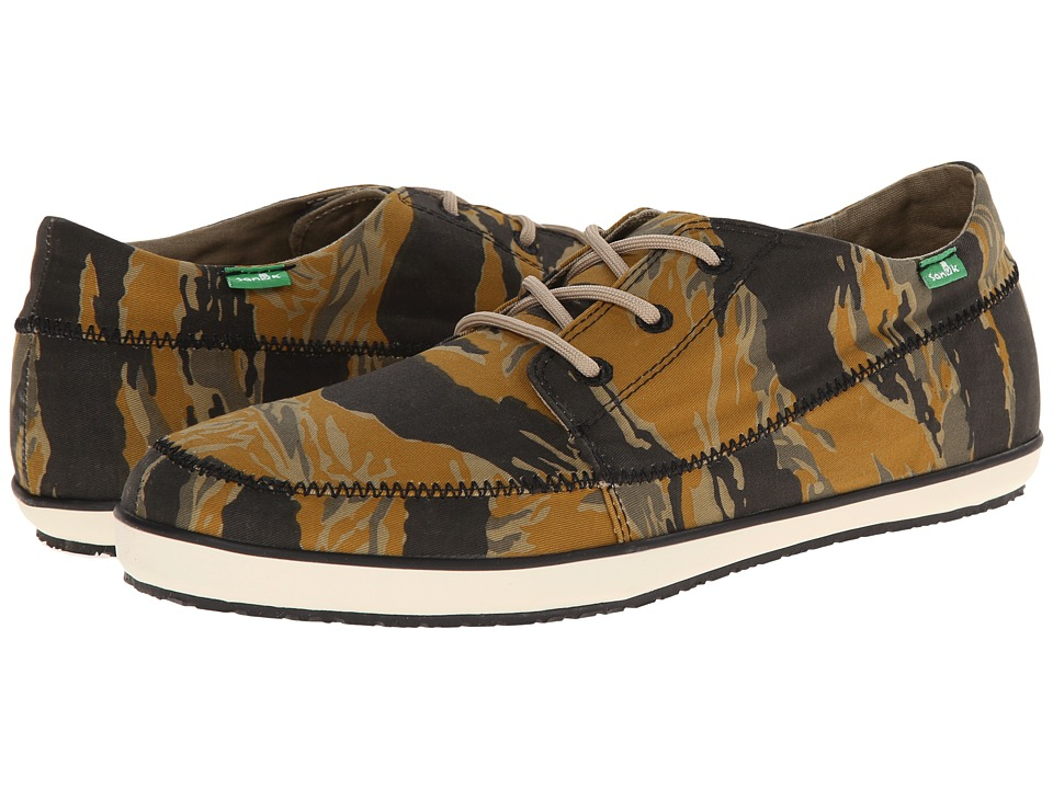 Sanuk - Cassius Camo (Tiger Camo Rust) Men