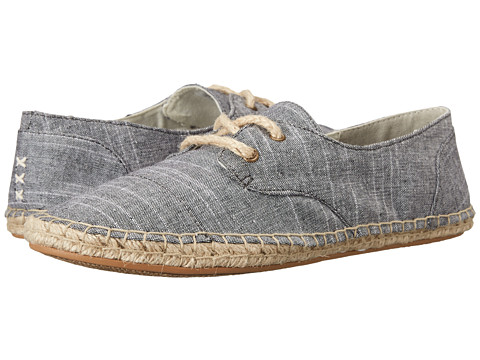 Reef - Escape ES (Black Chambray) Women's Lace up casual Shoes