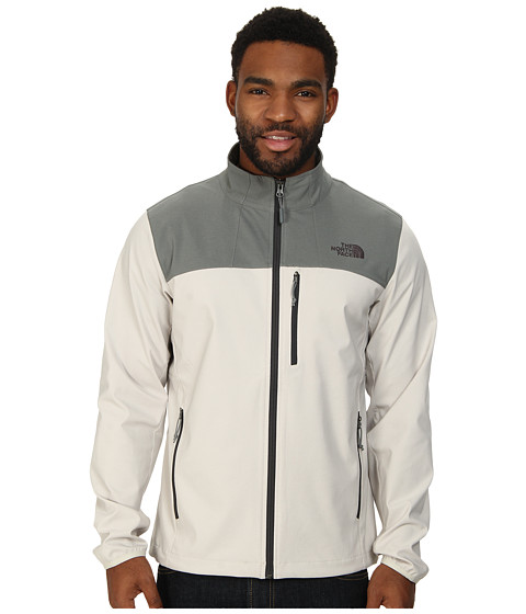 The North Face - Nimble Jacket (Moonstruck Grey/Sedona Sage Grey) Men